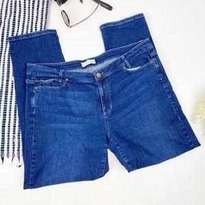 J. Jill Slim Boyfriend Straight Leg Jeans Size 16